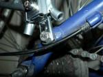 Багажник на GT avalanche 2.0 закреплённый с помощью самодельной втулки